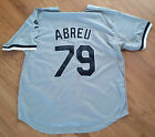 JOSE ABREU 'CHICAGO WHITE SOX' 1ST BASEMAN SIGNED GRAY JERSEY *COA 1