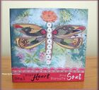 HEAL YOUR HEART WALL ART BY KELLY RAE ROBERTS 6 INCHES SQUARE FREE US SHIPPING