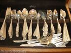 139 Pcs. Stieff 1935 Corsage Sterling Silverware & Servers Serv for 12 WoodChest