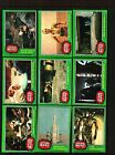 1977 TOPPS STAR WARS CARDS SERIES 4 GREEN..... EX. TO NEAR MINT CONDITION