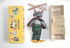 Vintage Pelham SL21 Wolf Puppet String Marionette Wood Papers + Box England