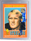 *TERRY BRADSHAW* 1971 Topps RC Reprint Hand-Signed Auto PITTSBURGH STEELERS