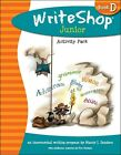 Write Shop Junior Activity Pack  Fold  Go Level D Teaching Writing Elementary