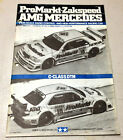 TAMIYA 1994 1/10 PROMARKT-ZAKSPEED AMG MERCEDED BENZ MANUAL FOR 58145