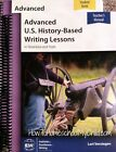 IEW Advanced US History Based Writing Teacher Student Book COMBO NEW