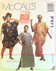 McCall's Sewing Pattern P471 UNCUT copyright 1993 Vintage