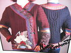 VTG DAISY KINGDOM THE GAME OF GO COAT Quilted Applique Jacket Mimi Rondenet