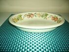 WEDGWOOD china QUINCE oven-to-table OVAL VEGETABLE Serving BOWL 9-3/8
