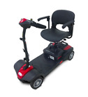 EV Rider MiniRider Power Mobility Scooter 4 Wheel Travel Compact Scooter Red