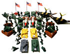 150 Pc Army Men Play Set B2 Bomber Tanks Cannons Missile