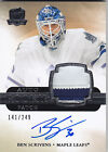 2011-12 UD THE CUP BEN SCRIVENS RC 249 AUTO PATCH ROOKIE #160 11-12
