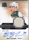 2011-12 UD THE CUP BRETT BULMER RC 249 AUTO PATCH ROOKIE #165 11-12