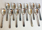 1938 William Rogers  Extra Plate Silverware Set of 12 Teaspoons 6