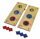 Cornhole Bag Toss 3 Hole Bean Game Washer Combo Outdoor Lawn Yard Kits Bakyard