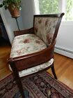 ETHAN ALLEN Double Cane-Sided LOVE SEAT /Settee in NEAR MINT CONDITION!