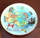 Rare Vintage Signed Canadian Centennial Plate Made in West Germany