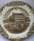 Johnson Brothers Heritage Hall - Brown Multicolor - China  Dinner Plate 9 3/4 in