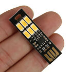 MINI Touch Switch USB mobile power camping lamp 6 LED night light lamp FT