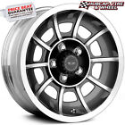 AMERICAN RACING VN47 VECTOR GRAY MACHINED 15X7 WHEELS RIMS set of 4 NEW