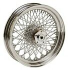 Ultima 16 X 3 Rear 80 Twisted Spoke Chrome Rim Wheel 1984-99 Harley Softail Dyna