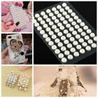 85x55mm Self Adhesive Pearl Gems Stick On Card Making Scrapbook Wedding Craft