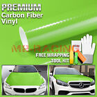 5d Premium High Gloss Black Carbon Fiber Vinyl Wrap Bubble Free Air Release