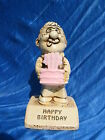 1970 Paula Figurine Happy Birthday Pink Cake W170 Novelty Statue B-Day Gift