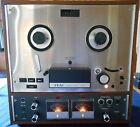 Teac Auto Reverse A-4010S Reel to Reel & Model RA-40S Stereo Record Amplifier
