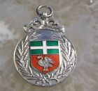 Stunning Vintage Sterling Silver Watch Fob / Medal - AYLESBURY BREAD SHOW --991