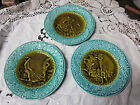 ANTIQUE RARE GERMAN MAJOLICA PLATES FROM THE ELF'S SERIES 1815-1845