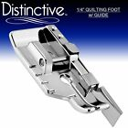 Distinctive 1 4 Quilting Sewing Machine Presser Foot with Guide + Free Shipping