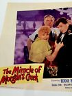1944 Eddie Bracken Betty Hutton The Miracle Of Morgan's Creek Lobby Card Plate