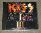 Kiss - Alive III (CD, May-1993, Mercury) Gene Simmons Ace Frehley Paul Stanley