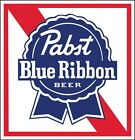 PABST BLUE RIBBON Sticker Decal DIFFERENT SIZES Beer Bumper Window Bar Wall