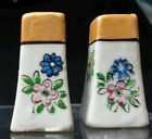 PEPPER SHAKERS JAPAN MADE HAND PAINTED 1 5/8