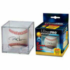 Ultra Pro Baseball Cube w Stand - UV Protected Display Case Ball Holder