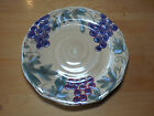 Noble Excellence MERITAGE Set of 3 Dinner Plates 11 in  Blue Purple