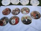 Little Orphan Annie KNOWLES COLLECTOR PLATES 1982-1986 Set of 7 w/ COA and box