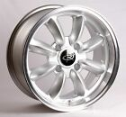 Silver 15X7 +30 Rota Rb 4X100 Wheels Fits Mini Cooper S Jcw Bmw 2002 E30 E21 E10