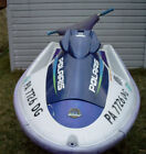 1998 Polaris SLTH 700 empty hull, 5433030 hood, no motor 96-99 SLT 780 SLTX 1050