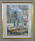 VINTAGE AMERICAN IMPRESSIONIST RUTH VANSICKLE FORD ESSEX CT AWS PAINTING LISTED