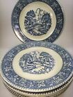 Vintage Set Of 6 Homer Laughlin Stratford Collection Shakespeare Country