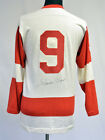 Gordie Howe Signed Vintage Replica Detroit Red Wings Jersey PSA DNA Auto