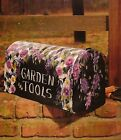 Tole Decorative Painting IN THE GARDEN CHRIS STOKES Book Cat Birdhouse Mailbox