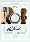 2010 NATIONAL TREASURES DAN FOUTS AUTO JERSEY #25 25 EBAY 1 1 BLACK INK CHARGERS