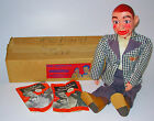 Knucklehead Ventriloquist Doll Dummy  Paul Winchell Boxed