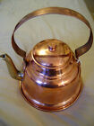 VINTAGE COPPER TEAPOT TEA POT WITH  BRASS SPOUT MADE IN TURKEY