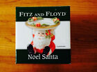 Christmas Holiday Fitz and Floyd Noel Santa Candle Holder NEW