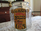 Rare Vintage Planters Peanut Butter Jar with no lid