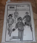 SEW CHILDREN'S JOGGING GEAR ANN PERSON SEWING PATTERN UNCUT